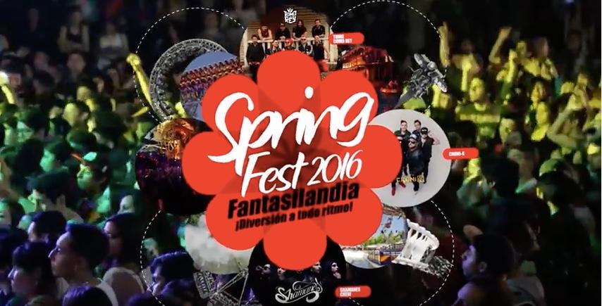 Este 14 De Octubre La Primavera Se Celebra Con Spring Fest 2016 En Fantasilandia Parlante Cl