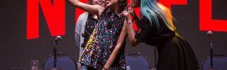 Reseña Fotográfica: Millie Bobby Brown compartió con sus fans en la Comic Con Chile 2017