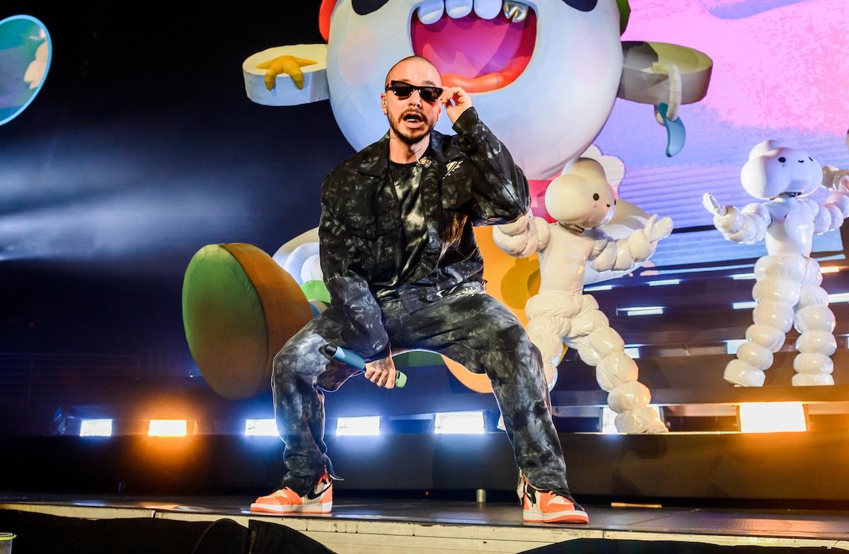 J Balvin en Movistar Arena: El color del reggaetón - Parlante.cl